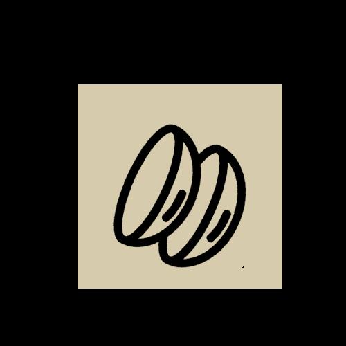Optique de Halles - Lentille